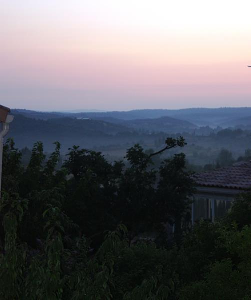 Sundown in Les Riailles